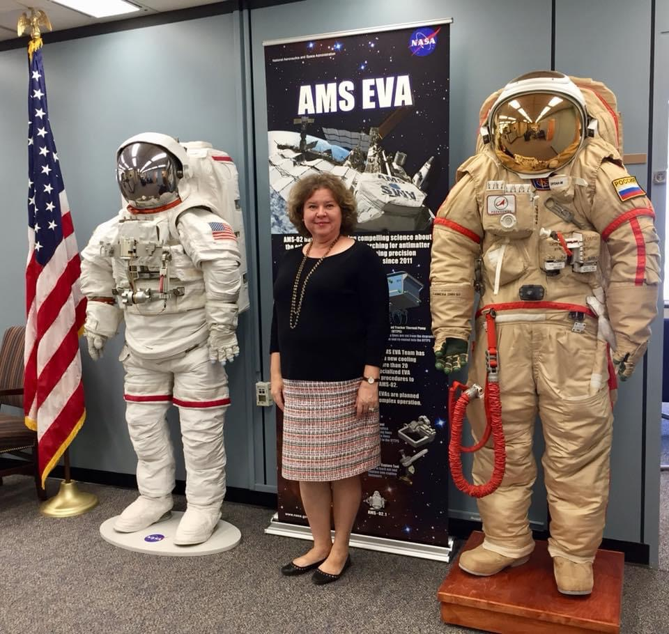 Irina Yashkova, OHP at the Johnson Space Center.